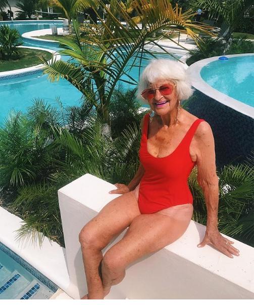 e49d8f718af4 Abuelita picarona de Instagram celebra sus 90 años - El Siglo
