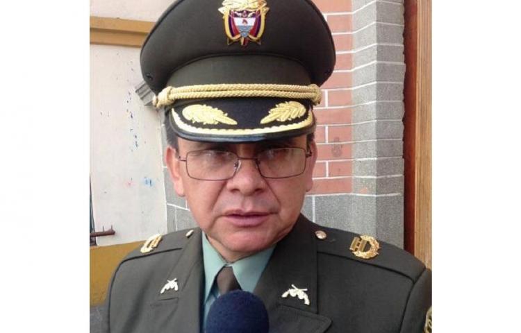 Guerrilleros asesinan al teniente coronel Alfredo Ruiz Clavijo