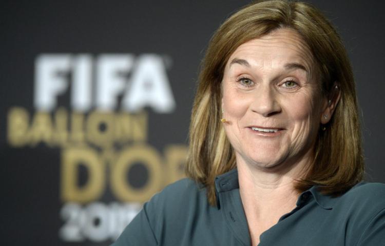 La estadounidense Jill Ellis, mejor entrenadora del año