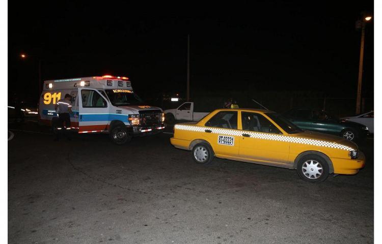 Taxi mandó a menor al hospital en Tocumen