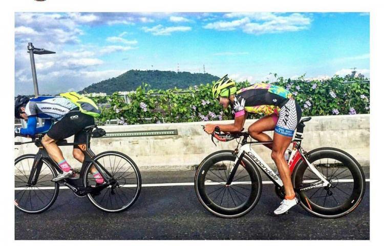 Carolina Dementiev , lista para Ironman70.3