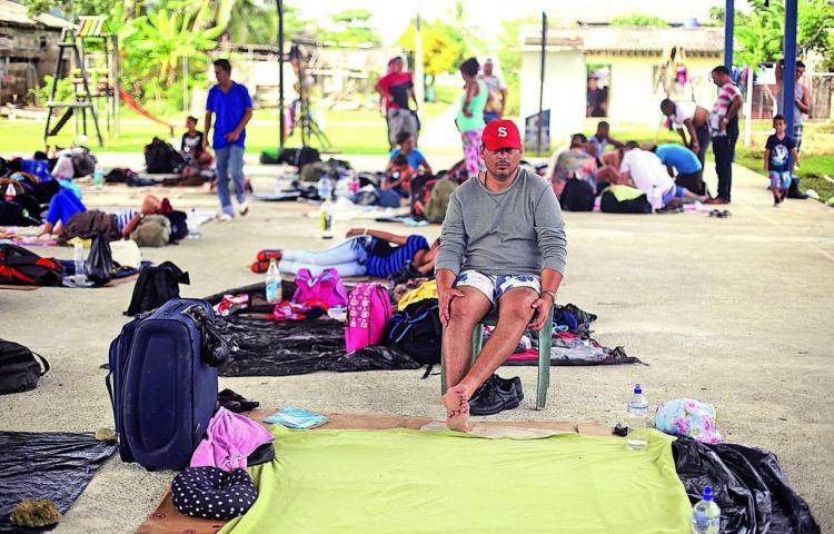 México recibe a 269 migrantes cubanos procedentes de Costa Rica y Panamá