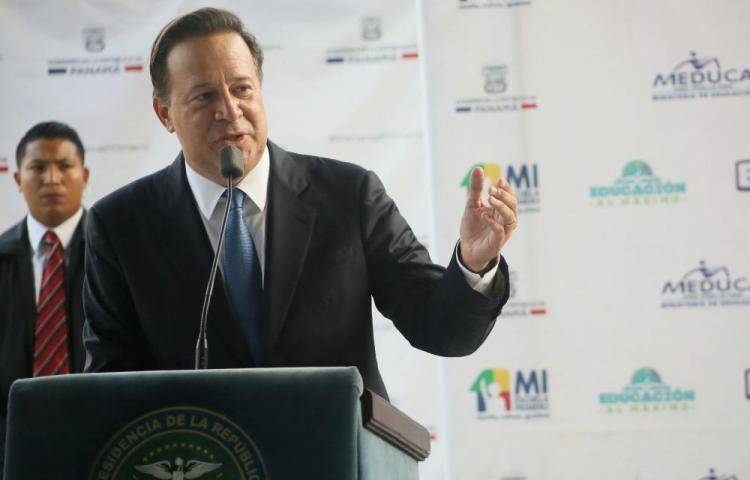 Varela defiende que evasión fiscal es un problema global y no de Panamá
