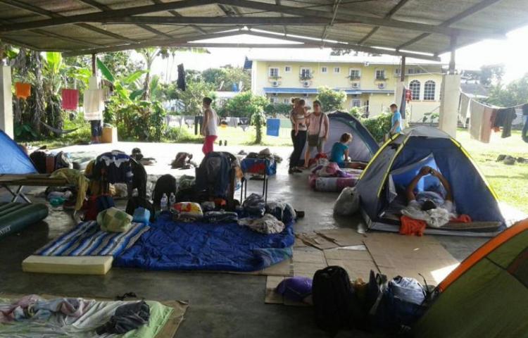 Se habilitan albergues para 2.500 migrantes cubanos