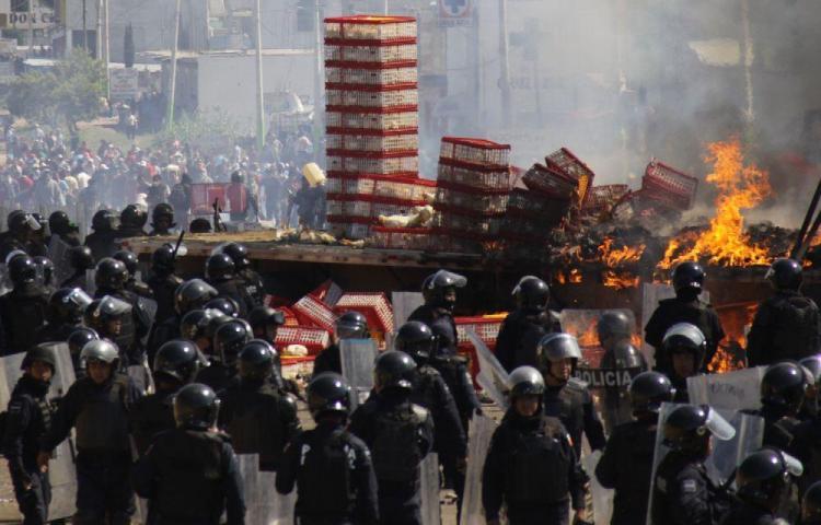 Al menos 13 muertos y 25 desaparecidos en Oaxaca