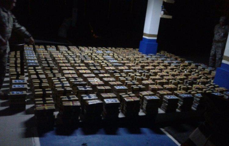 Más de 32 toneladas de drogas decomisadas y 400 detenidos en Panamá este año