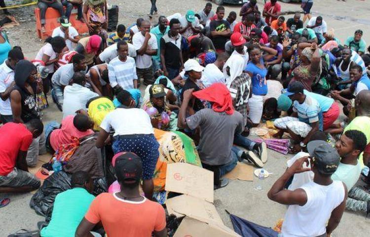 Haitianos buscan pasos clandestinos hacia Colombia