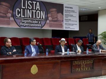 EE.UU. trabaja a la carta con Lista Clinton