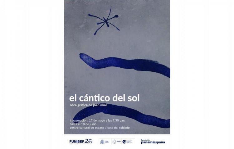 'El cántico del sol' de Miró se exhibirá en Panamá