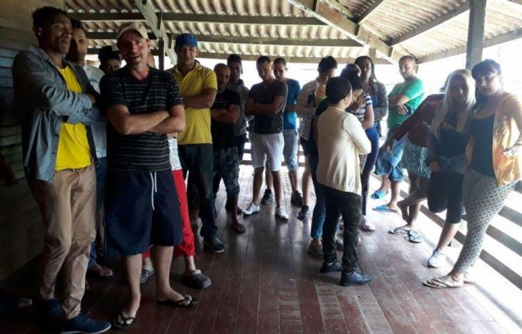 Se escaparon cuatro cubanos del albergue de Chiriquí
