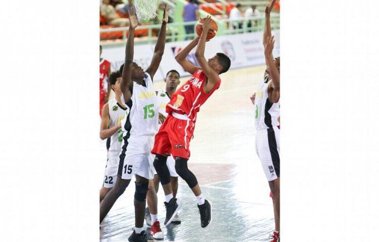 Canaleros pierden ante Jamaica en el Centrobasket Sub-17