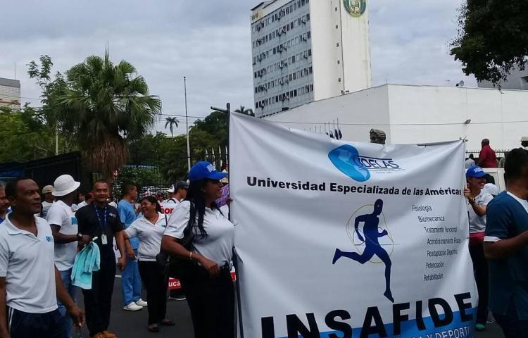 Udelas sigue sin recursos y sin respuestas, hoy caminan hacia la presidencia