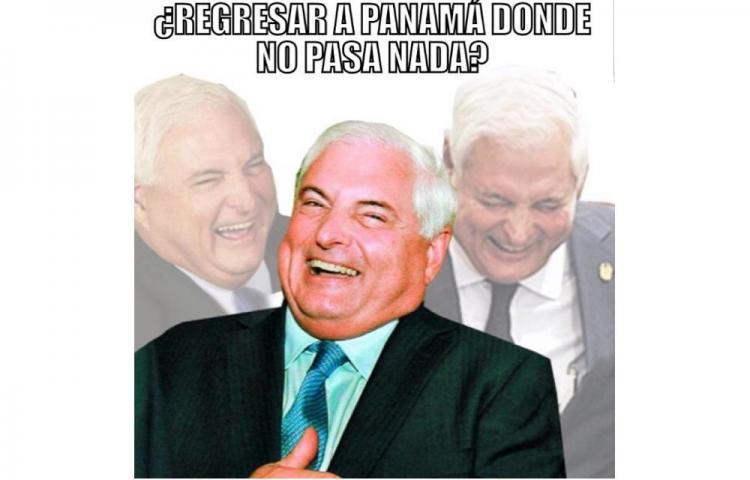 Los mejores memes sobre la extradición de Ricardo Martinelli