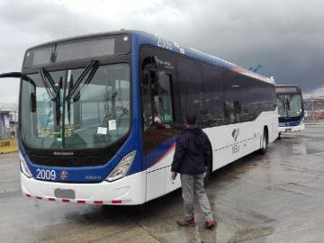 Sacarán metrobuses de la capital para la ruta en Colón