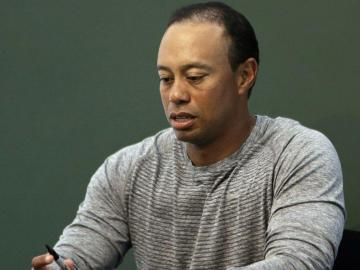 Tiger Woods se declara culpable