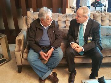 Expresidente de Uruguay, José Mujica llega a Panamá