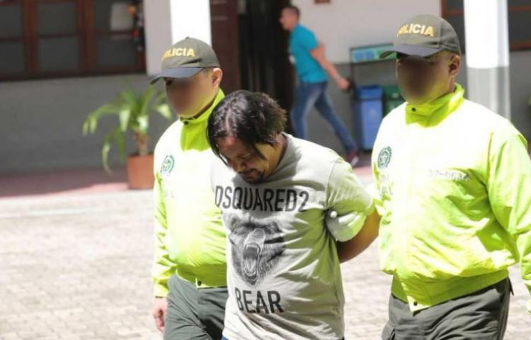 """Narcotraficante alias """"Tom"""" es trasladado a una cárcel en Bogotá"""