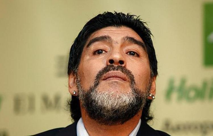 """Maradona: """"El Madrid no está jugando bien, para nada"""""""