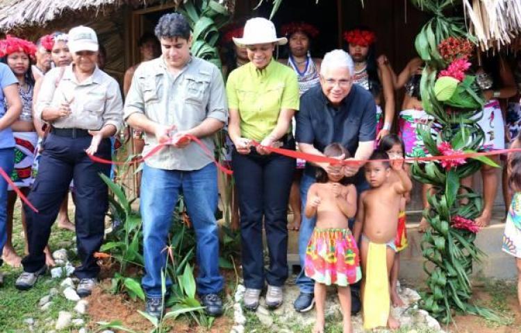 Inauguran Museo Comunitario de la Cultura Emberá
