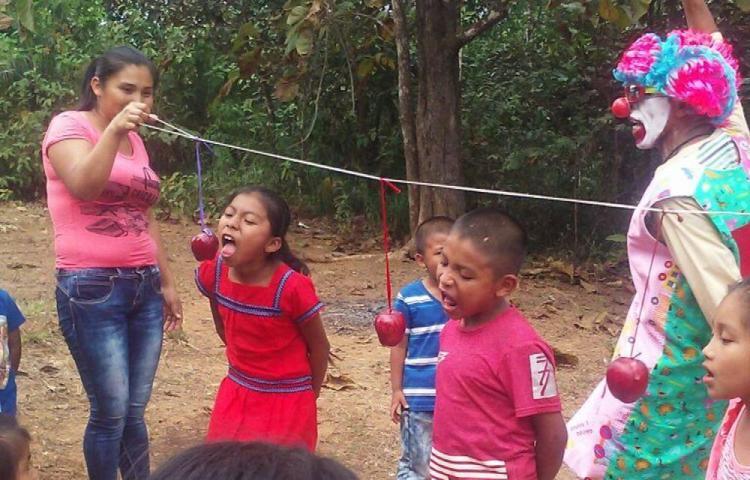 Niños de la comarca gozaron la Navidad