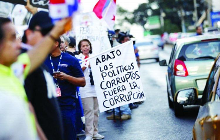 Apoyan la manifestación contra la corrupción