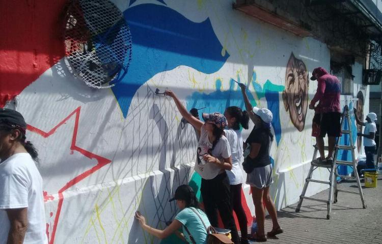 Mural del 9 de enero, la memoria de una gesta patriótica