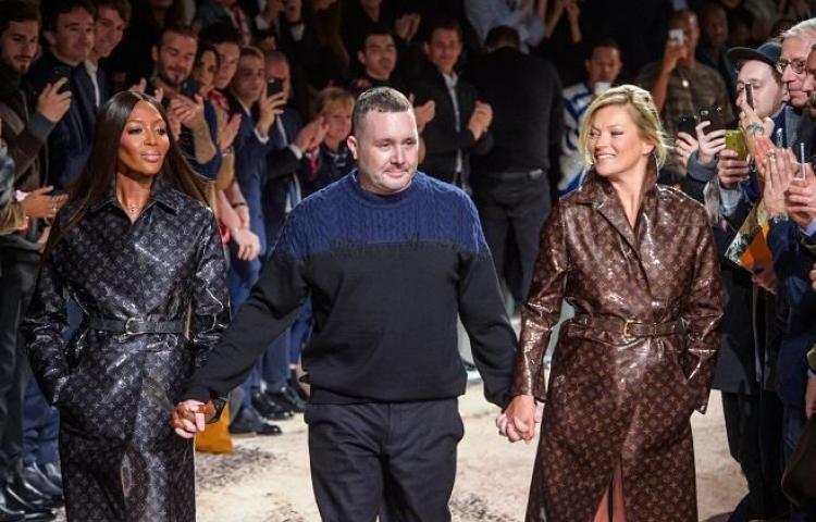 Vuitton convierte a Cambell y Moss en las reinas de su pasarela más deportiva