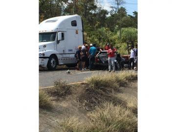 Accidente de tránsito en El Espino de La Chorrera deja un muerto