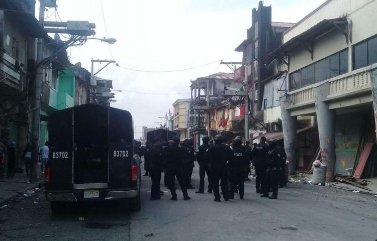 Policía rescata artículos robados ayer en Colón