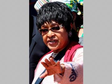 Murió Winnie, la 'madre' de Sudáfrica