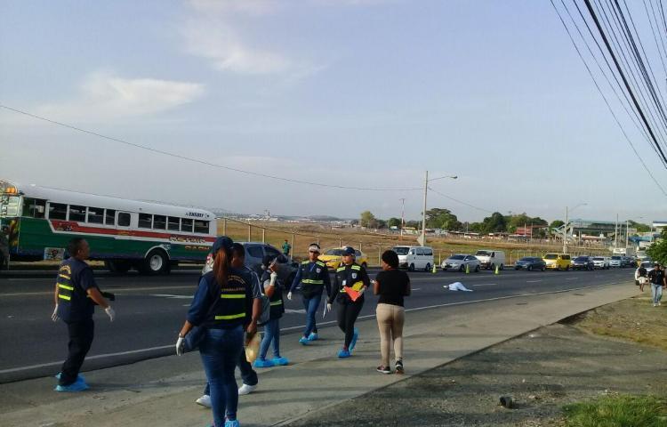 Hombre muere tras ser atropellado en Tocumen