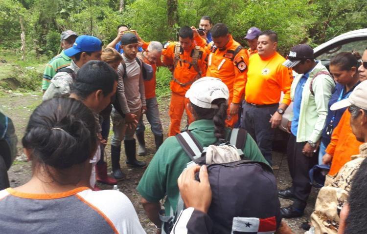 Rescatan a tres personas lesionadas en la cordillera de Talamanca