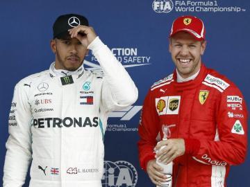 Hamilton fue el más rápido