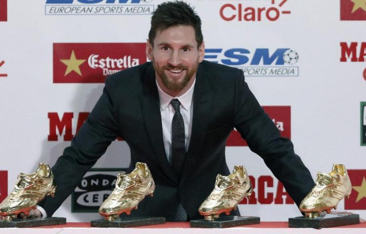 Messi Fútbol: Leo Messi, virtual ganador de la Bota de Oro
