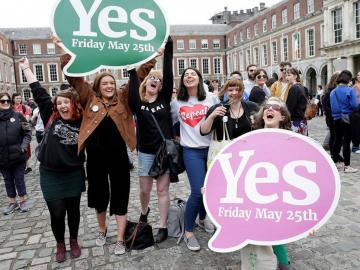 Irlanda a favor del aborto