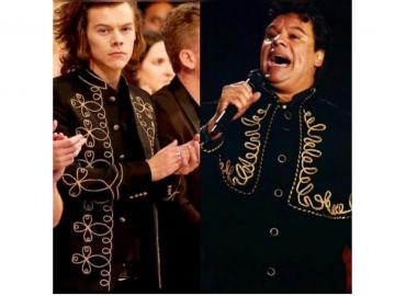 Estilo de Harry Styles, ex One Direction, provoca que lo comparen con Juan Gabriel