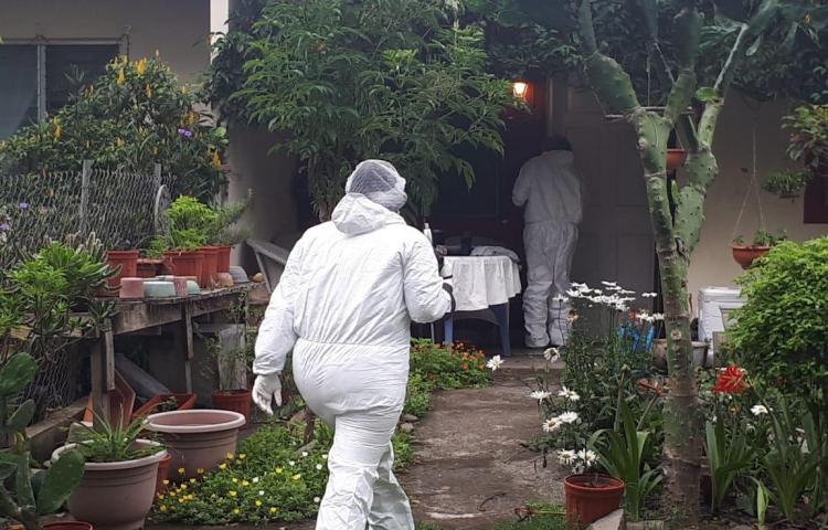 Inspeccionan casa de gringa desaparecida en Chiriquí