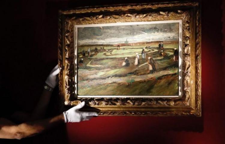 Un Van Gogh subastado en París por más de $8 millones 188 mil