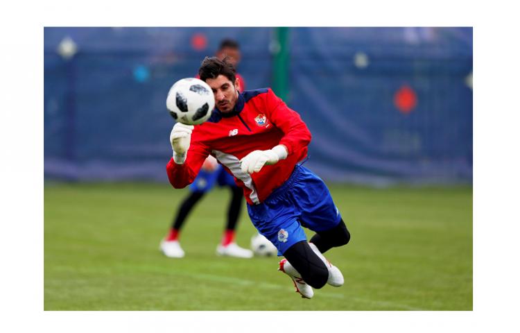 La Selección de Panamá entrena previo a la inauguración del Mundial de Rusia 2018