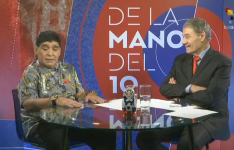 """Maradona sobre la clasificación de 'La Sele' al Mundial:""""Panamá que no pida más"""""""