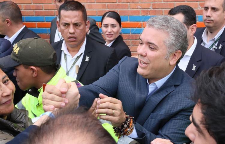 Duque, vencedor de elecciones presidenciales en Colombia