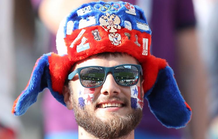Estos fueron los rostros que apoyaron a 'La Sele' en Sochi, ¿los reconoces?