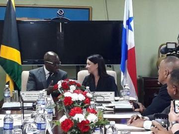Panamá y Jamaica crean espacio de colaboración en educación, salud y turismo