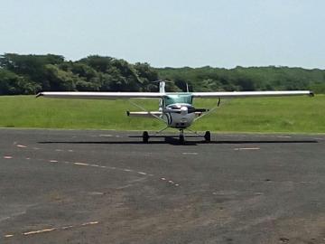 Avioneta sufre desperfectos en Chitré