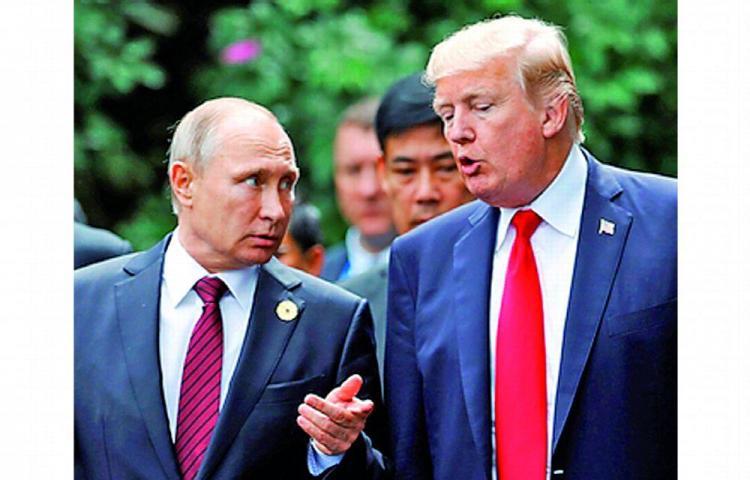Trump y Putin acuerdan fortalecer cooperación