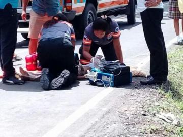 Tras atropello a estudiante, miembros del IPT de Capira protestan por seguridad