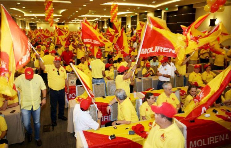 Rechazan cancelación de primarias en el Molirena