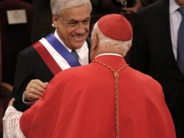 Piñera cuestiona al clero en Chile