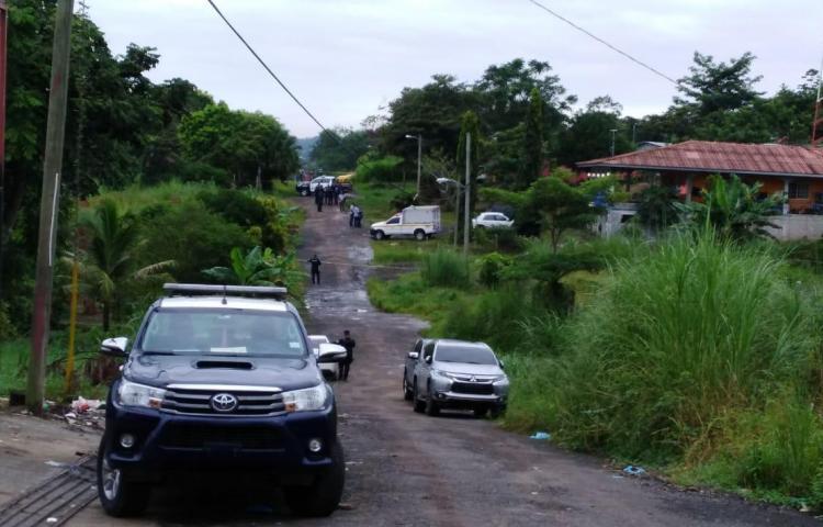 Doble homicidio en Cerro Azul