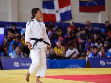 Judoca Roper derrota a la cubana Dorvigny y consigue el tercer oro de Panamá